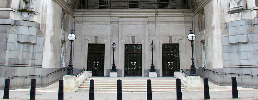 Building with three big doors