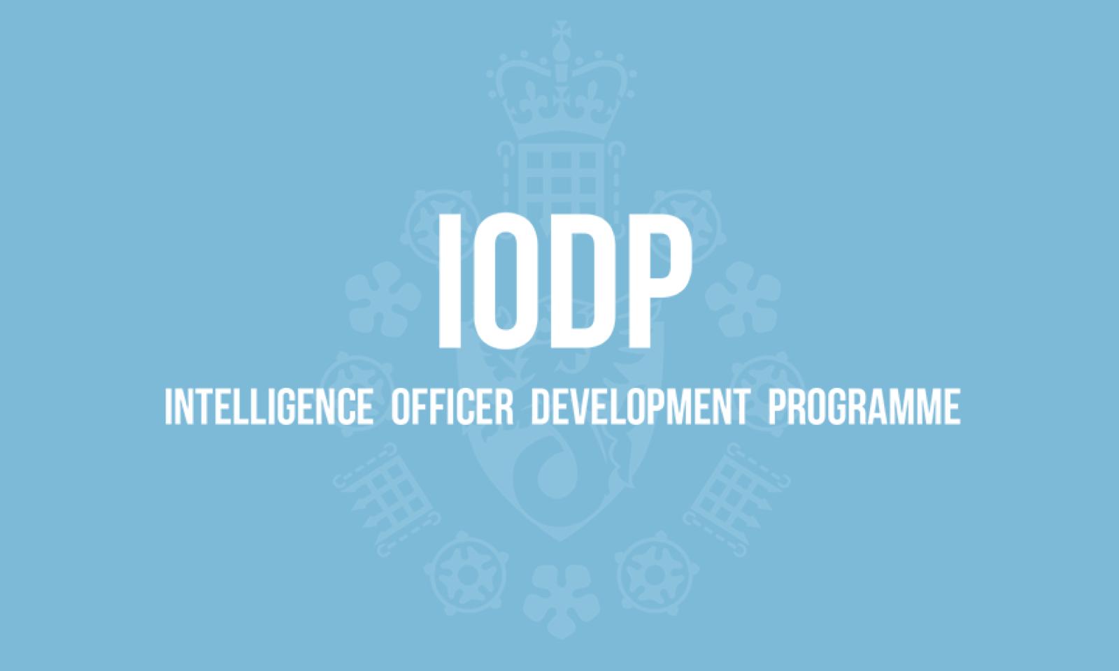(IODP) Intelligence Officer Development Programme