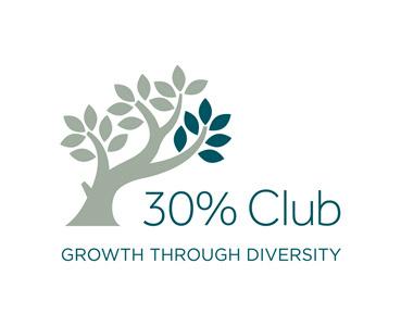 30% Club growth through diversity logo