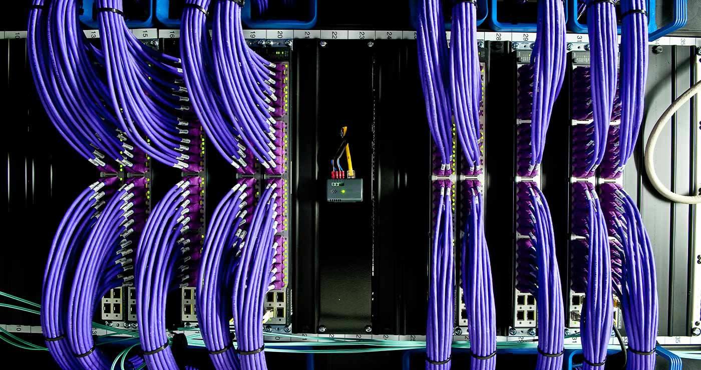 Purple wires