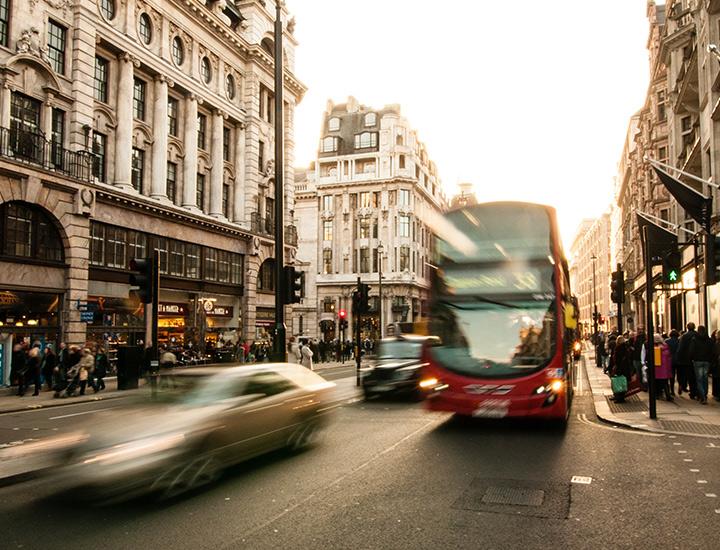 Central London street