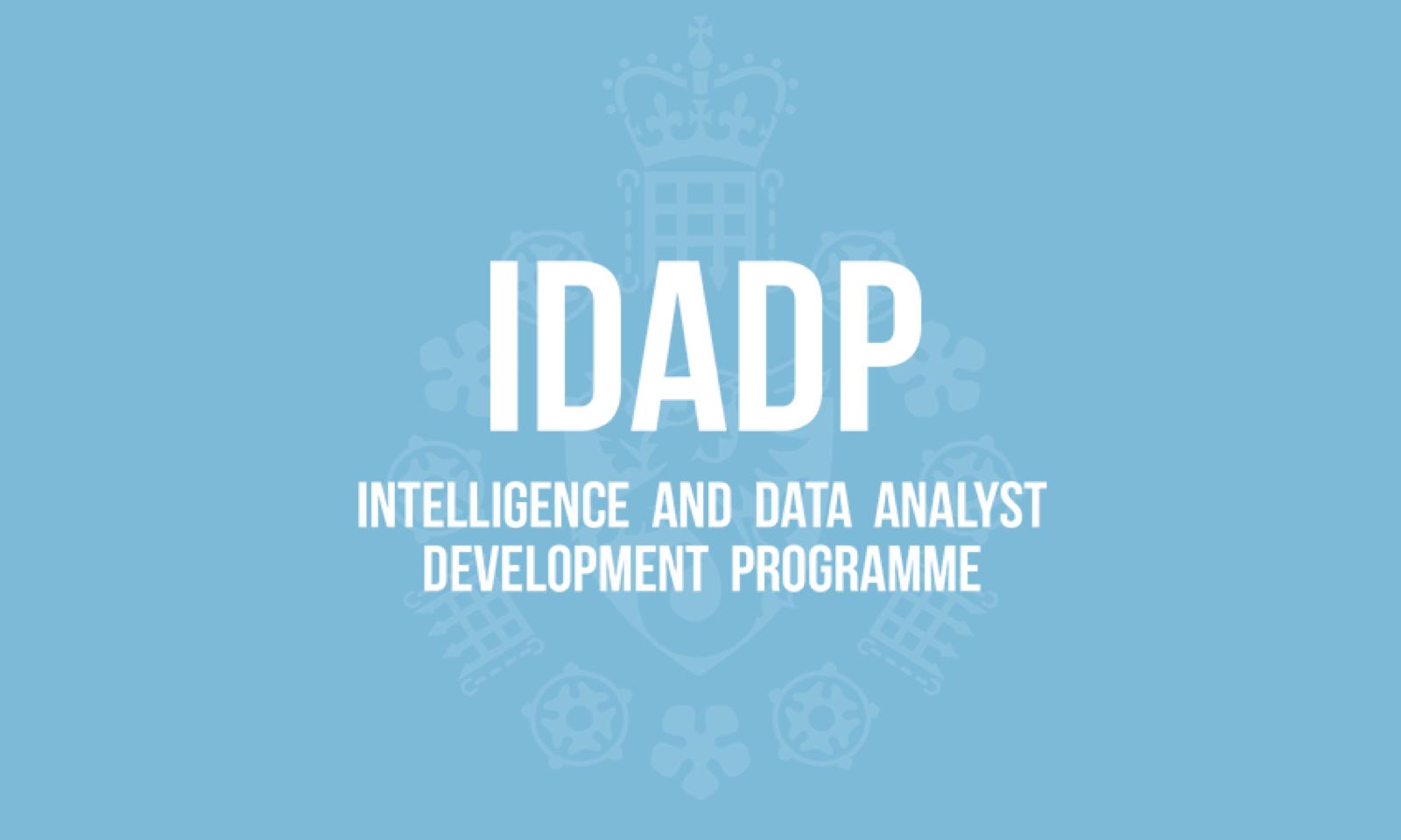 (IDADP) Intelligence and Data Analyst Programme