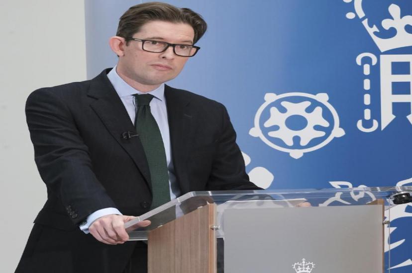 Ken McCallum, Director General of MI5
