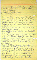Scan of report of visit by Eddie Chapman and MI5 officers to the De Havilland factory