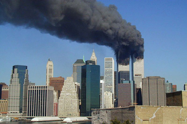 The World Trade Center on September 11, 2001